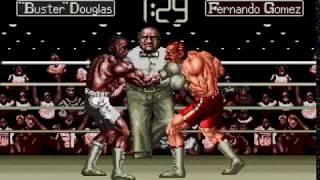 Mega Drive Longplay [474] James Buster Douglas Knockout Boxing