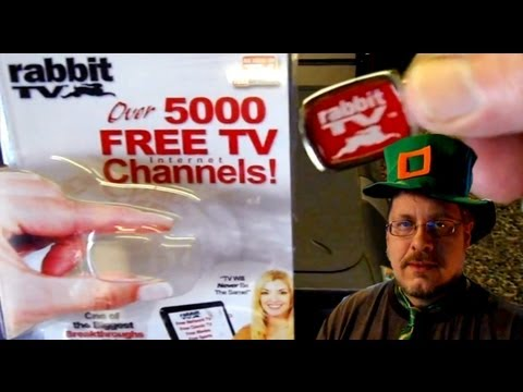 Free Television - Today we will review the $10 Rabbit TV gadget that promises to deliver over 5000 free TV channels directly to our computer screens. You can purchase one of t...