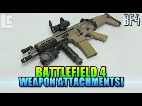 attachments - Hey guys today we are going to cover 16 weapon attachments in Battlefield 4 that you should know about if you want to take full advantage of your weaponry. L...