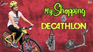 My shopping at Decathlon || Sports Shopping || Shopping Vlog ||