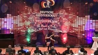 Jana Köder & Alexander Vesel - Deutsche Meisterschaft 2014