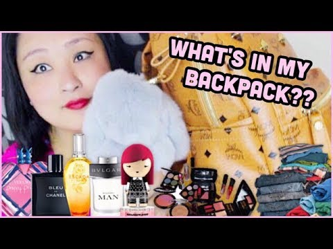 (What's In My Backpack?? - Duration: 4 minutes, 57 seconds.)