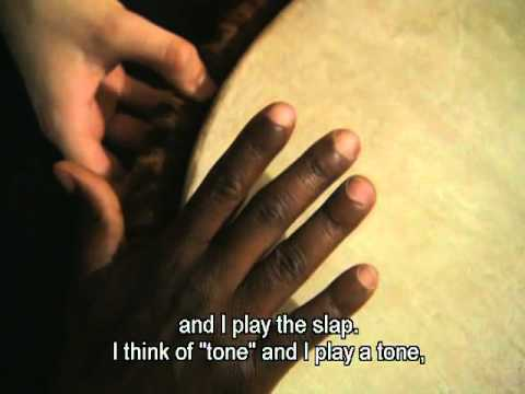 Mamady Keïta on djembe technique