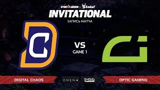 Digital Chaos vs Optic Gaming, Первая карта, SL Imbatv Invitational S5 Qualifier