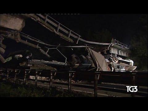Ιταλία: Ανατριχιαστικό βίντεο- ντοκουμέντο από την κατάρρευση γέφυρας – world