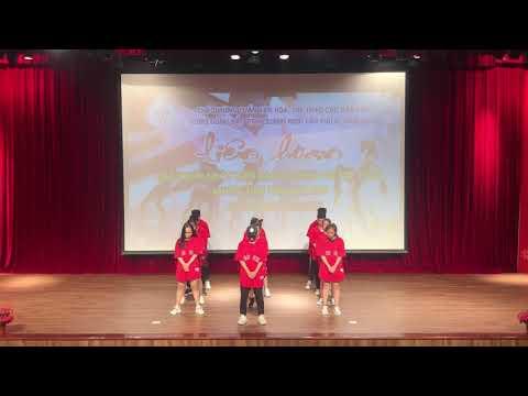 Nhảy hiện đại - Bùa Yêu - Thi liên hoan nhóm nhảy - THPT Hải Đông - Thời lượng: 4:41.