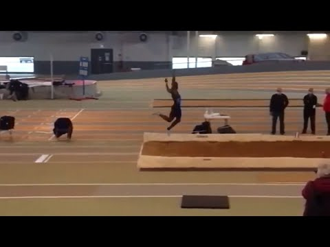 New Triple Jump World Record by Zango in France