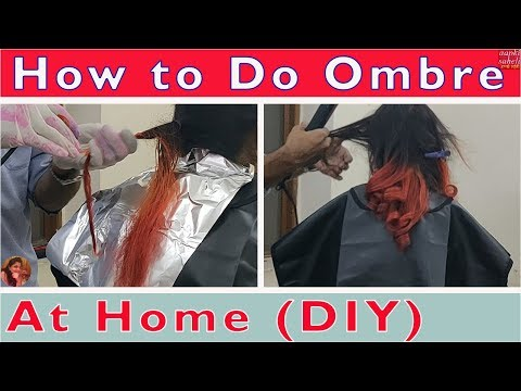 Hair color - How to Do Ombre Hair Dye At Home-Simple & Easy Technique-DIY