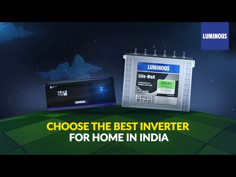 Luminous-Luminous Batteries and Inverters