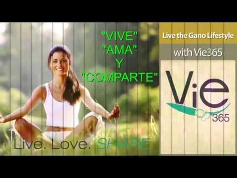 """Como cuidar mi cabello? GANOLIFE  Linea de productos de belleza  """"Vie 365"""""""
