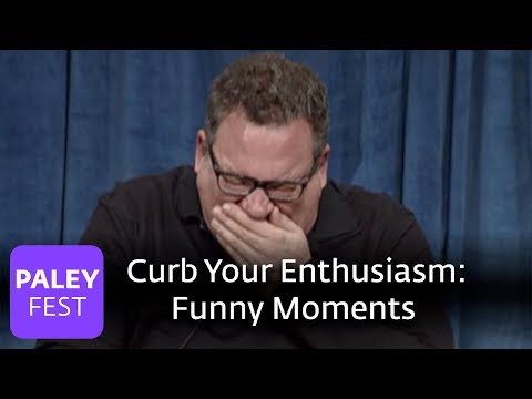 Curb Your Enthusiasm - Funny Moments On Set