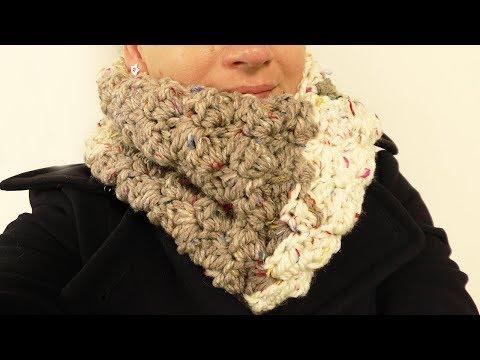 Loop Schal Häkeln Schal Aus Einem Knäul Wolle Einfachen Loop