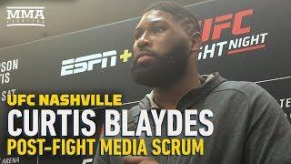 UFC Nashville: Curtis Blaydes Plans To 'Khabib' His Way Through Heavyweight Division After Win