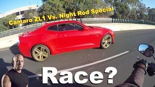 1. 2014 Camaro ZL1 Races a 2014 Night Rod Special