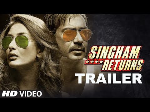 Official: Singham Returns Theatrical Trailer - Ajay...