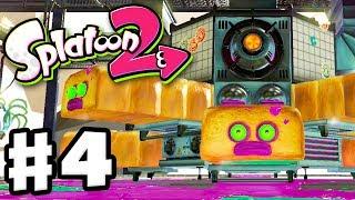 Splatoon 2 Gameplay Walkthrough Part 4! Turf War, Salmon Run, and Single Player Level 4, Industrial Toaster! PART 1...