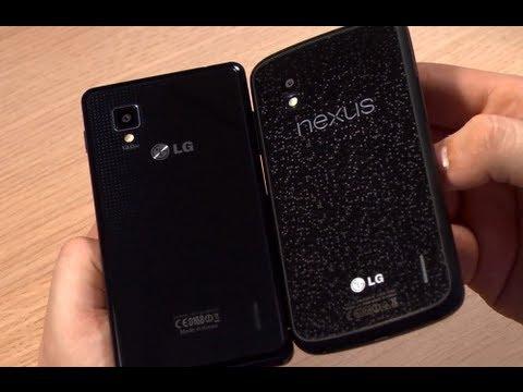 Swift G vs Nexus 4 -- najnowsze LG na wideo