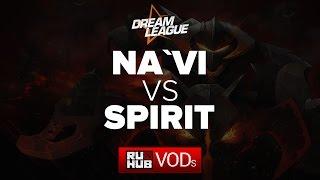 Na'Vi vs Spirit, game 1