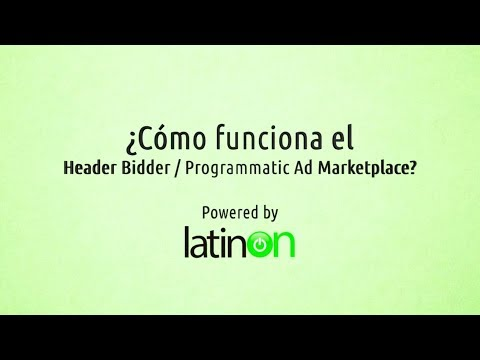 LATINON Header Bidding: Programmatic Marketplace