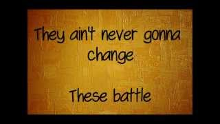 Guy Sebastian - Battle Scars (Lyrics On Screen) Feat. Lupe Fiasco