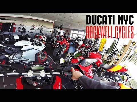 Rockwell Cycles Tour - MV Agusta love at first sit  - v187