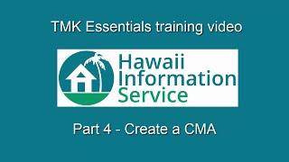 TMK Essentials (Part 4) - Create a CMA