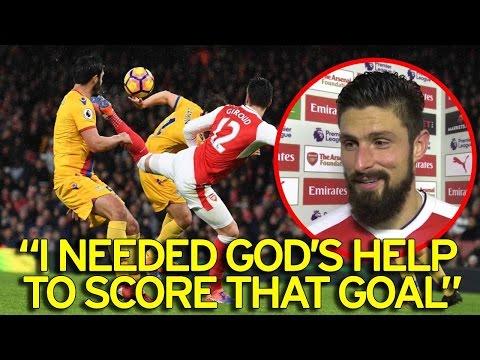 Olivier Giroud SCORPION KICK GOAL against Crystal Palace! [Kokiashvili EDITION]