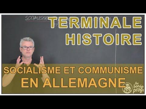 SOCIALISME - Une composition sur le socialisme et le communisme en Allemagne au XXème.