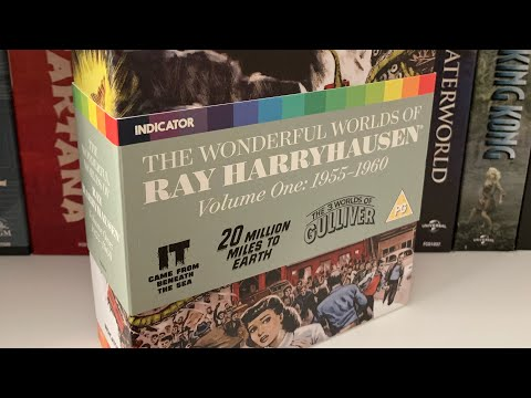 The Wonderful Worlds of Ray Harryhausen Volume One Indicator Limited Edition Unboxing
