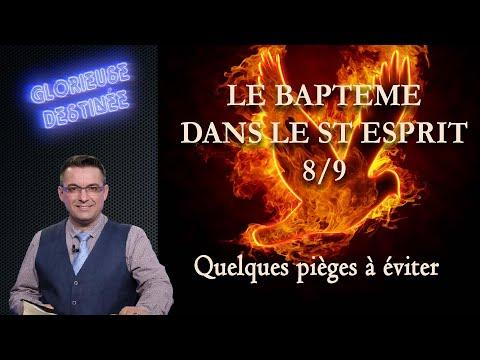 Franck ALEXANDRE - Glorieuse Destinée : Le baptême dans le Saint-Esprit - Quelques pièges à éviter