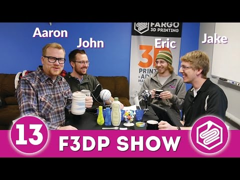Fargo 3D Printing Show: Episode 13 – Acronyms of 3D Printing