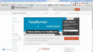 Email Sign Up Plugins For WordPress (Feedburner)