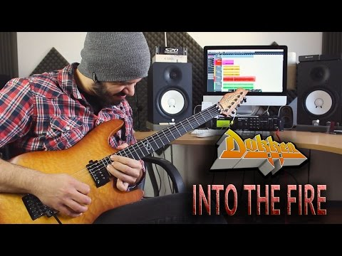 Video DOKKEN   Into The Fire   SOLO COVER download in MP3, 3GP, MP4, WEBM, AVI, FLV January 2017