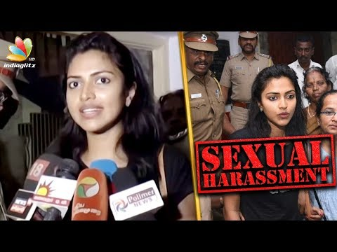 Amala Paul files a sexual harassment case  | Hot Tamil Cinema News