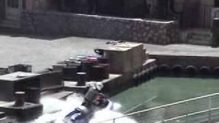 Car stunt show at MGM Studios, Orlando