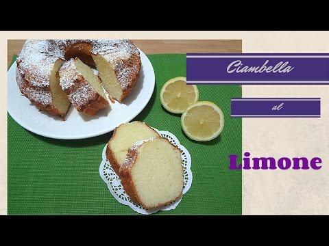 video ricetta: profumatissima ciambella al limone