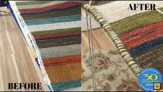 Professional Area Rug Repair Services Boca Raton