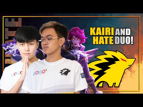 KAIRI/FULL CLIP and HATE DUO! WELCOME SA ONIC KAIRI!!