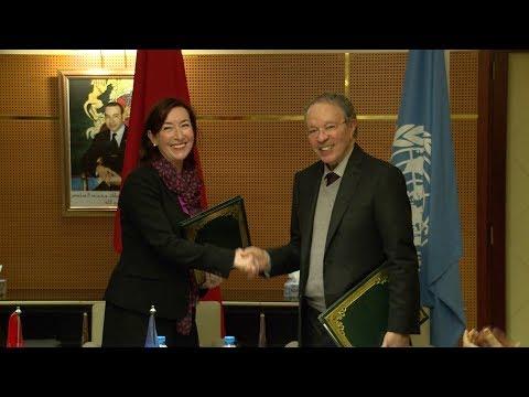 Signature d'un accord de partenariat relatif aux ODD entre le HCP et le PNUD