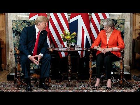 Επεισοδιακή επίσκεψη Τραμπ στη Μεγάλη Βρετανία