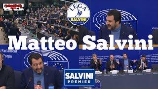 Video 🔴 Intero intervento di Matteo Salvini a Strasburgo del 13/03/2018. MP3, 3GP, MP4, WEBM, AVI, FLV Juli 2018