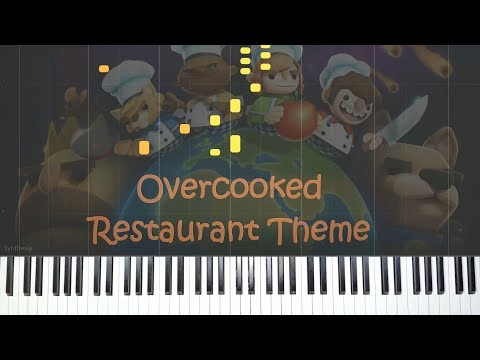 Overcooked Restaurant Theme(Penne For Your Thoughts) Piano Cover + Free Midi & Sheet Music!