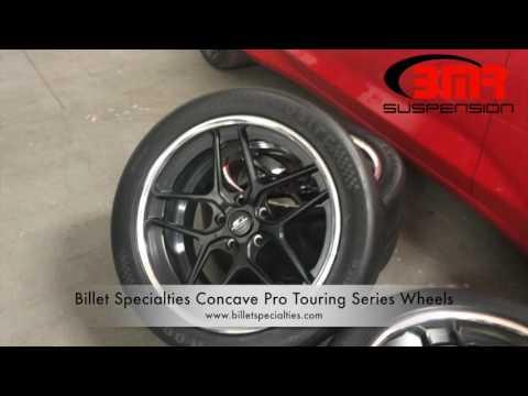 BMR Suspension 2016 Camaro Video Diary Part 3—Billet Specialties Wheels