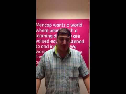 Dean tells a joke about parking - Mencap's comedy competition 2013