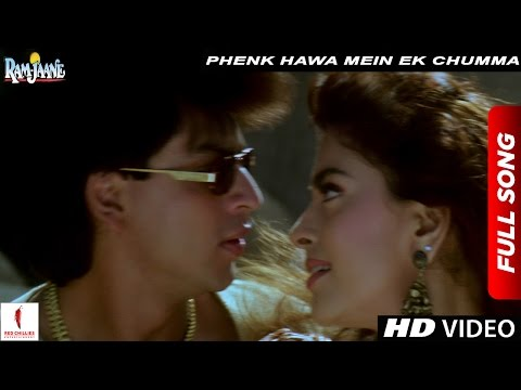 Video Phenk Hawa Mein Ek Chumma Full Song | Ram Jaane |  Shah Rukh Khan, Juhi Chawla download in MP3, 3GP, MP4, WEBM, AVI, FLV January 2017