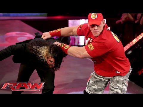 Raw - Dean Ambrose brings Seth Rollins' Money in the Bank briefcase to Raw, and he's looking for a fight. See FULL episodes of Raw on WWE NETWORK: http://bit.ly/1wJ13X0 Don't forget to SUBSCRIBE:...