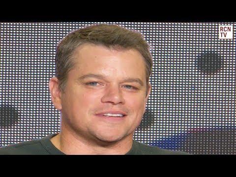 Matt Damon Explains Downsizing Meaning