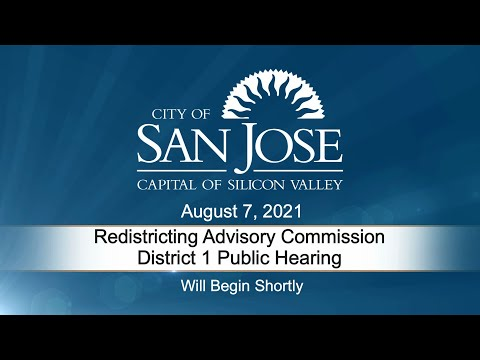 Aug 7 2021 Redistrict Advisory District 1