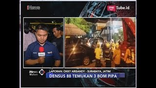 Video Geledah Rumah Teroris Surabaya, Densus 88 Temukan 3 Bom Pipa - iNews Malam 13/05 MP3, 3GP, MP4, WEBM, AVI, FLV Juli 2018