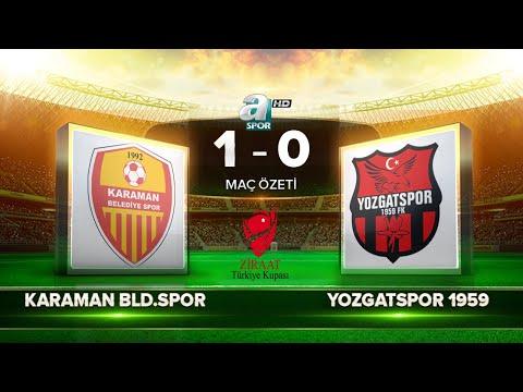 Караман - Yozgatspor 1959 FK 1:0. Видеообзор матча 28.08.2018. Видео голов и опасных моментов игры